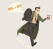 [PW:AA] Dashing Detective B) by ochibrochi