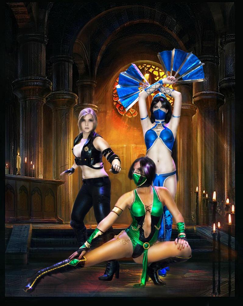 Mortal Kombat by Jane-Po