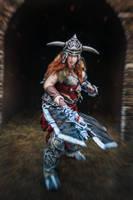 Diablo 3 cosplay Barbarian by ZyunkaMukhina