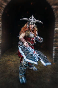 Diablo 3 cosplay Barbarian