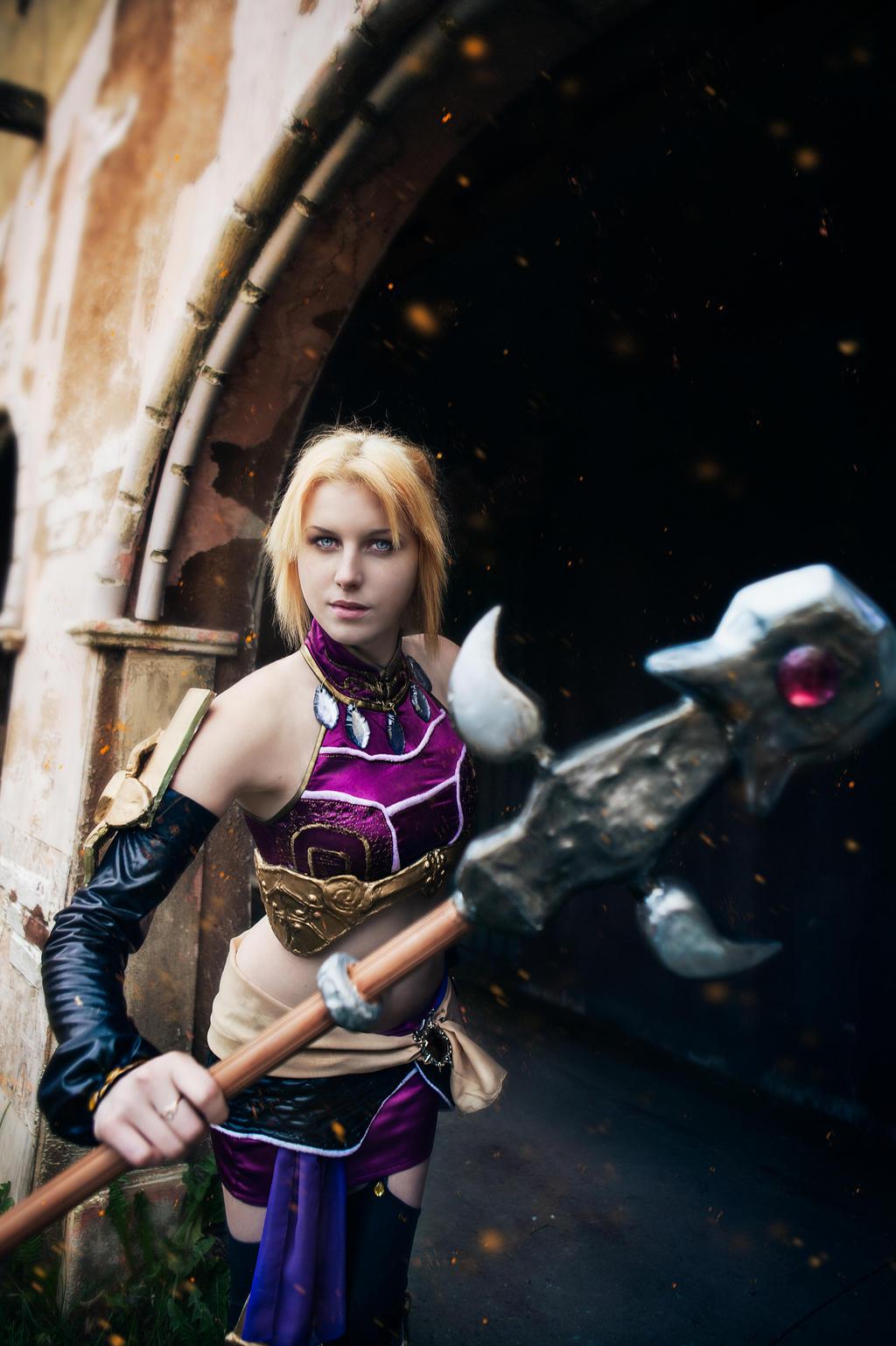 Diablo 3 Enchantress Eirena cosplay