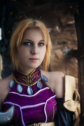Diablo III Enchantress Eirena cosplay by ZyunkaMukhina