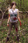 Tomb Raider: Reborn cosplay