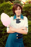 Bioshock Infinite Cosplay Elizabeth by ZyunkaMukhina
