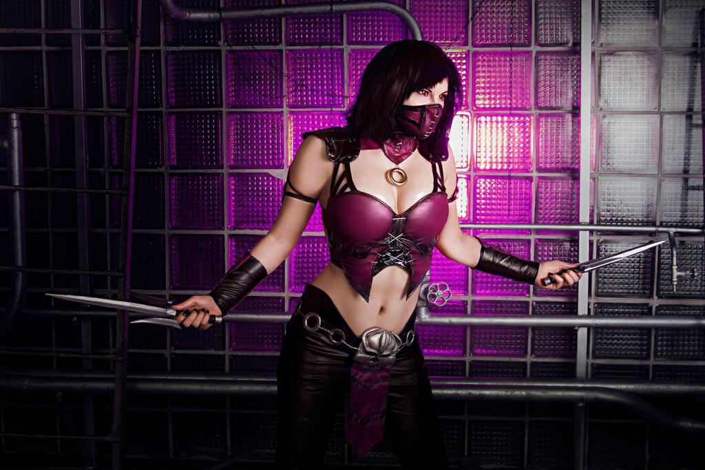 Mileena MKX cosplay by ZyunkaMukhina