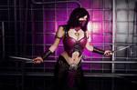 Mileena MKX cosplay