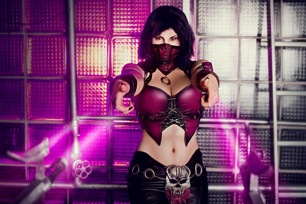 Mileena MKX cosplay by Jane-Po