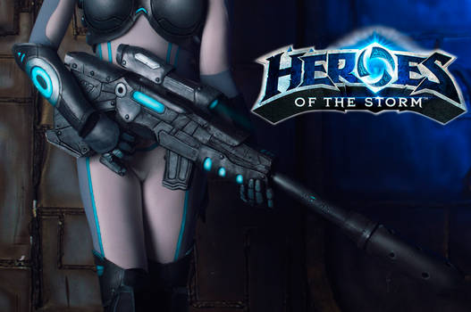 Teaser Nova from Heroes of the storm =)