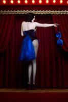 Blue Bird Burlesque Costume by ZyunkaMukhina