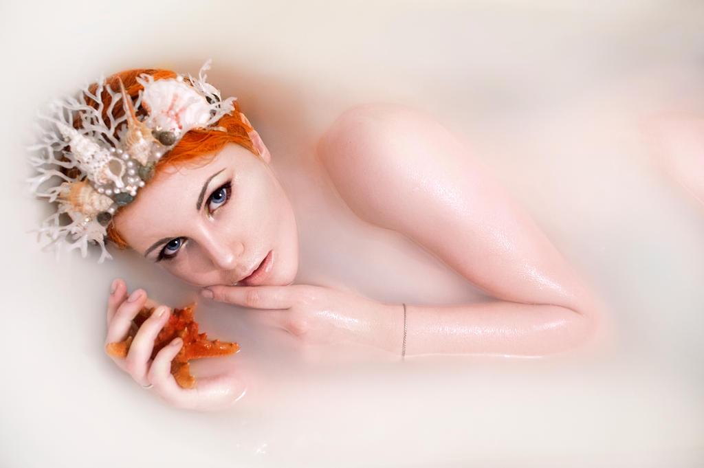 Ginger mermaid by ZyunkaMukhina