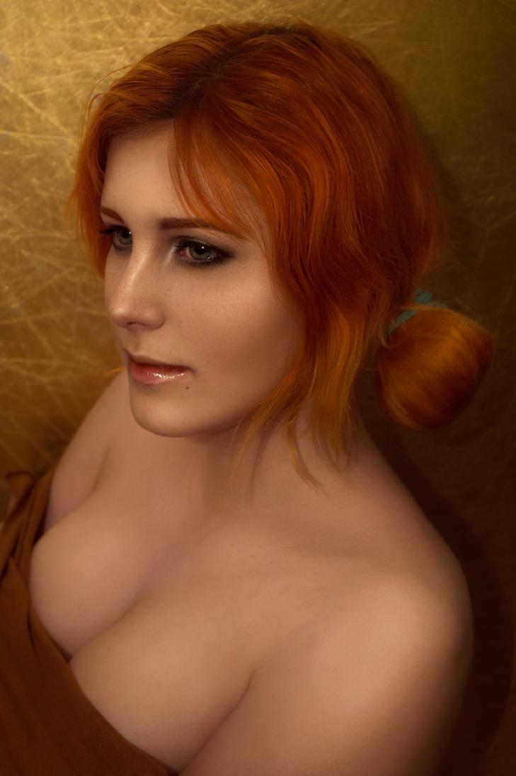 The Witcher III: Wild hunt - Triss Merigold cos. by ZyunkaMukhina
