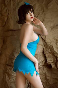 The Flintstones - Betty Rubble cosplay