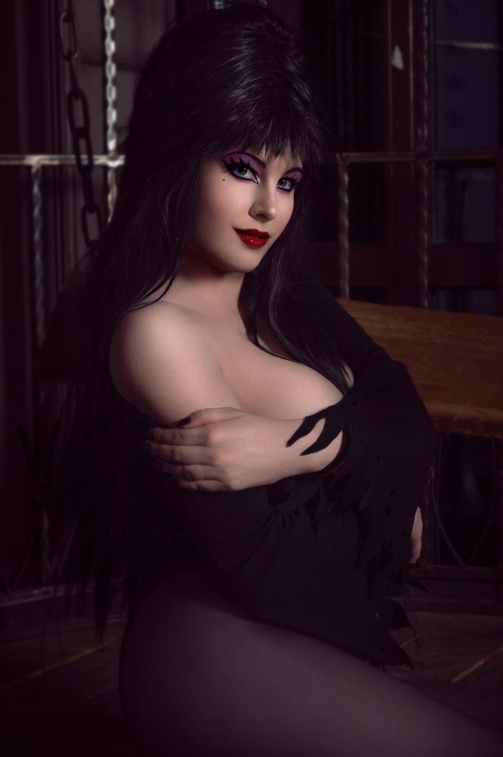 Elvira - Mistress of the Dark by ZyunkaMukhina