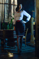 Bioshock: Burial at Sea -  Elizabeth cosplay