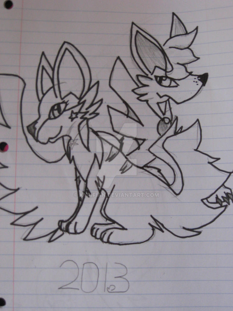 Kyrifan and Terra, now by Kyrifian