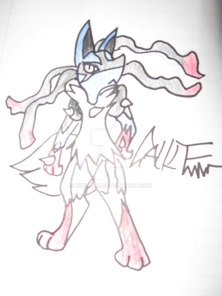 Mega Lucario!! by Kyrifian