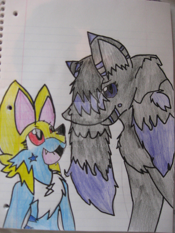 Terra and Sayla by Kyrifian
