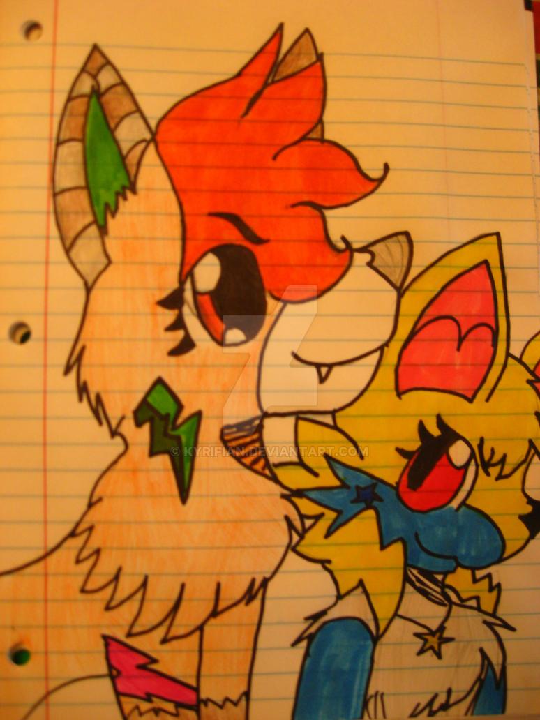 Dusty and Terra! by Kyrifian
