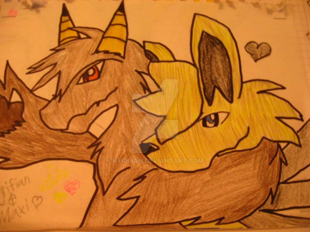 Maxi and Kyrifian by Kyrifian