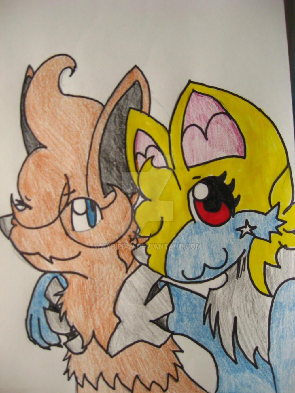 Terra and Kyrifian Hanging Out by Kyrifian