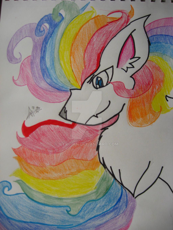 Epic Rainbow Lion by Kyrifian