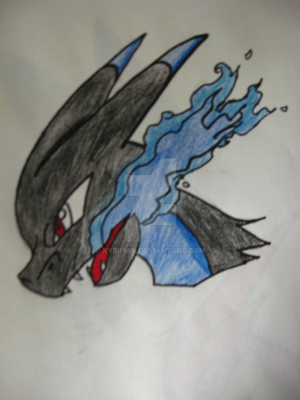 Mega Charizard X! by Kyrifian