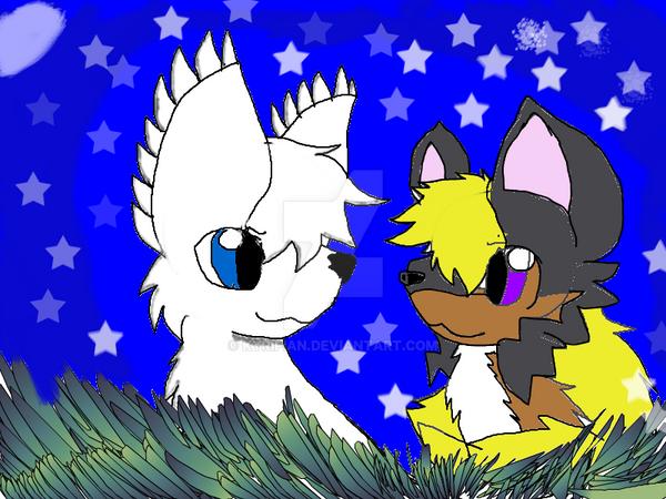 Ivy and Chantal! by Kyrifian
