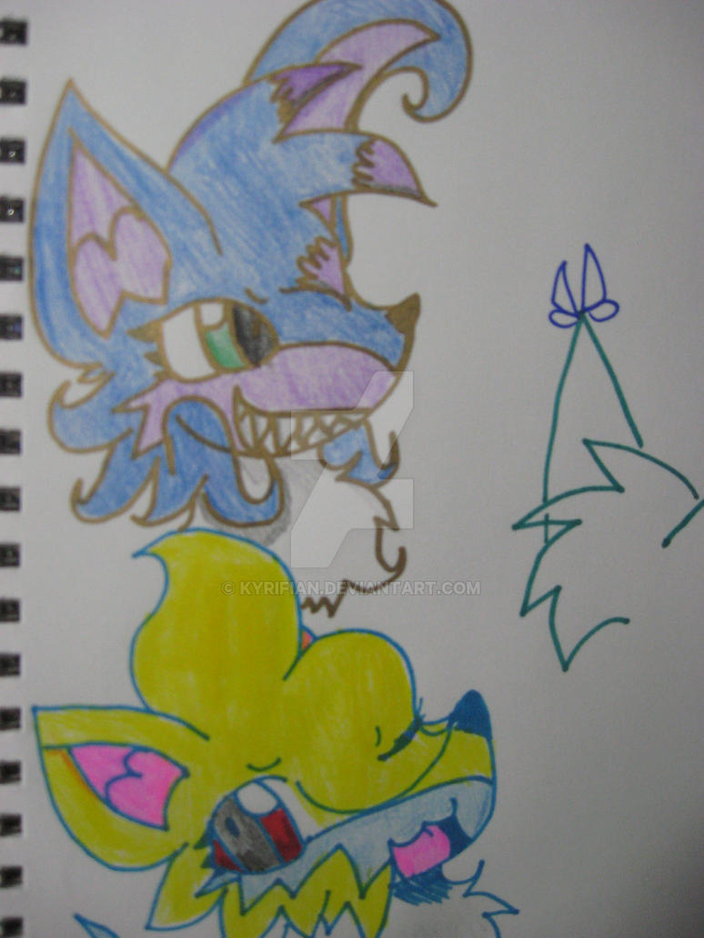 DOODLEZ AND CRAPPY LIGHTING by Kyrifian