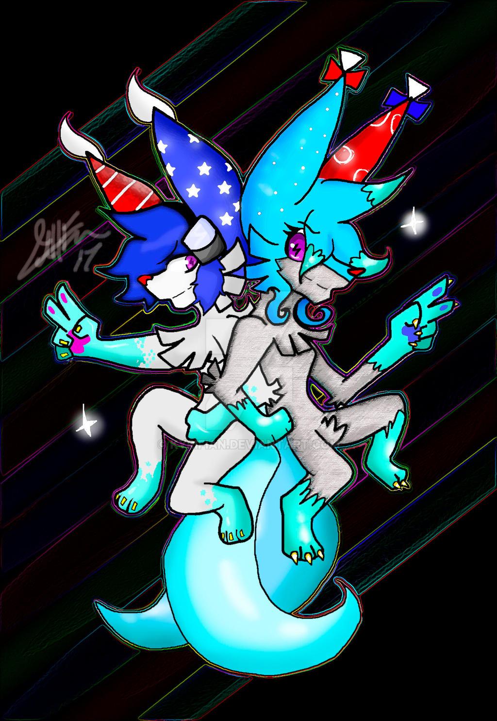 DEM PARTY ANIMALS! by Kyrifian