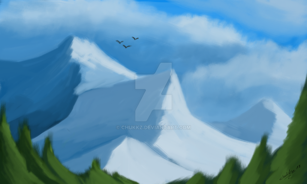 Paintstorm Mountain by Chukkz