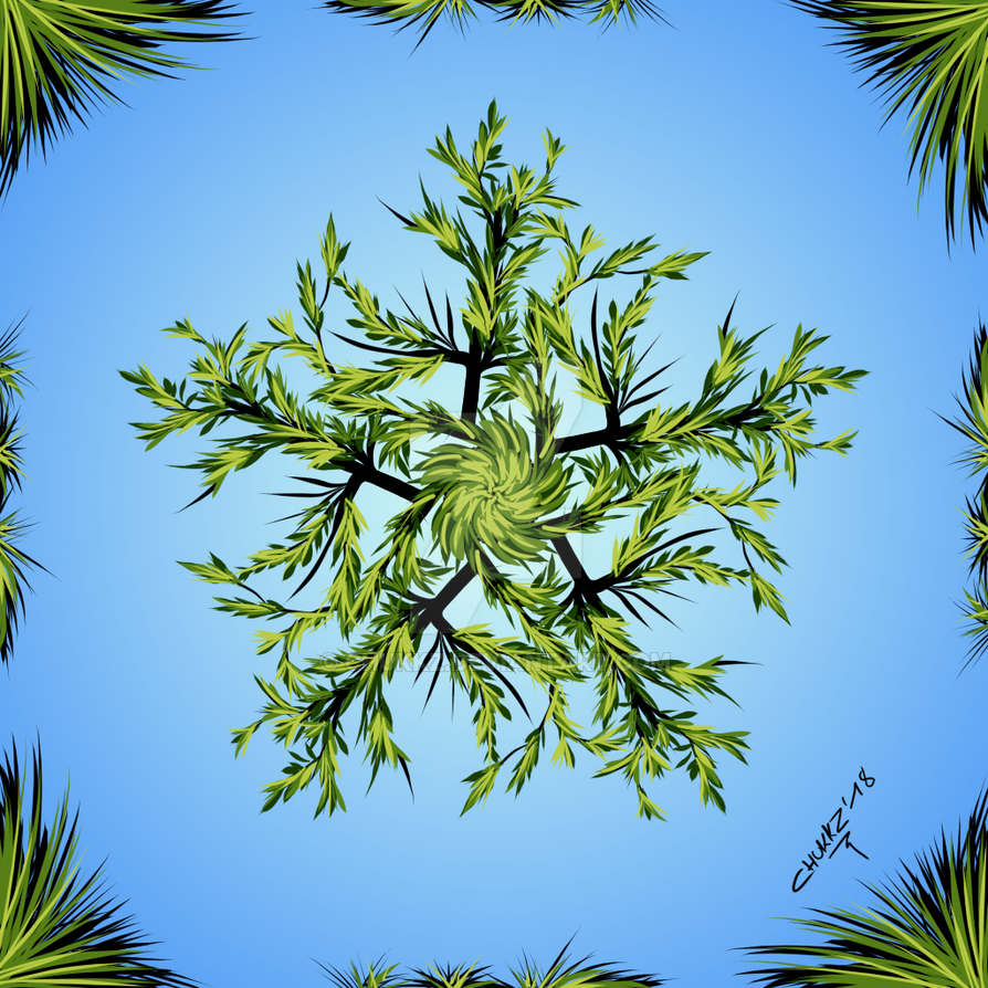 Tree Ornamental 01 by Chukkz
