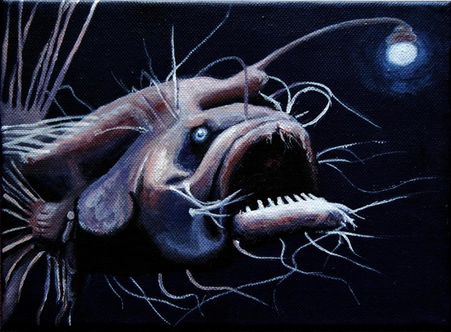 lantern fish by r0gn0n on DeviantArt