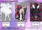 FireFlea's Commission Information by FireFlea-San