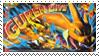 Mega Charizard Y Stamp by FireFlea-San