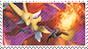 Delphox Stamp by FireFlea-San