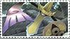 Aegislash Blade Form Stamp by FireFlea-San