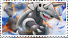 Aggron Stamp by FireFlea-San