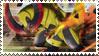 Haxorus Stamp by FireFlea-San
