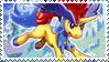Keldeo Stamp by FireFlea-San