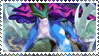 Suicune Stamp by FireFlea-San