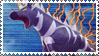 Zebstrika Stamp by FireFlea-San