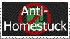 Anti-Homestuck Stamp by FireFlea-San