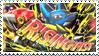 Mega Lucario Stamp by FireFlea-San