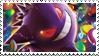 Gengar stamp by FireFlea-San