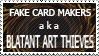 Anti- Fake Cards Stamp by FireFlea-San