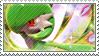 Gardevoir Stamp by FireFlea-San