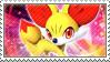 Fennekin Stamp by FireFlea-San