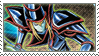 Dark Magician Stamp by FireFlea-San