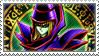 Dark Magician Stamp by FireFlea-San