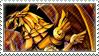 Winged Dragon of Ra Stamp by FireFlea-San